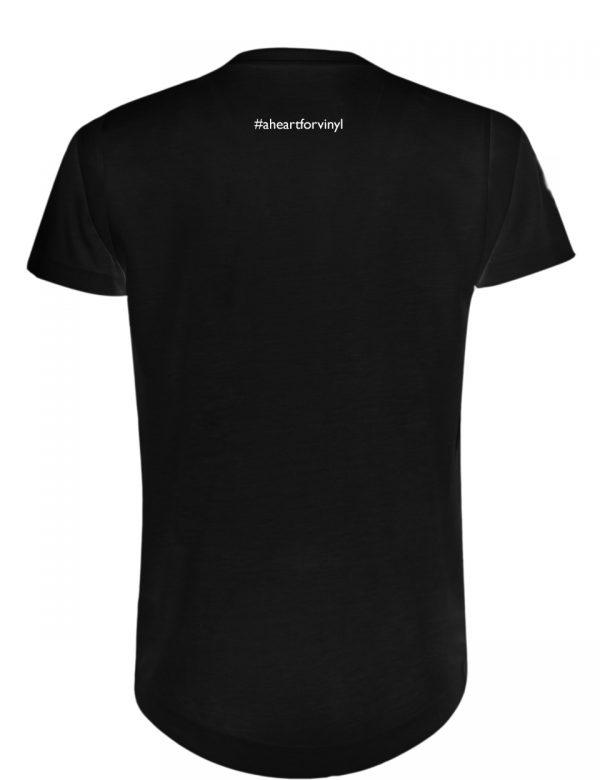 Mens Longshirt Pattern Black